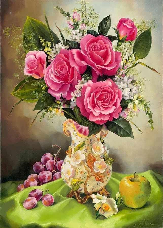 RDG-1206 Букет розовых роз