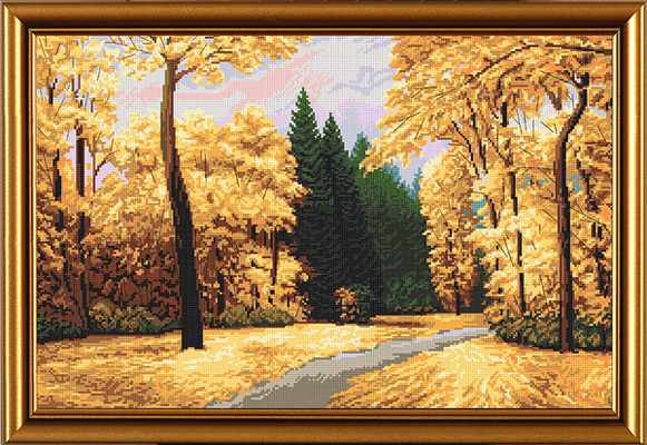РЕ 3271 Осенний парк «