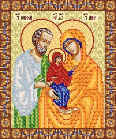 РИП-062 Святые праведные Иоаким и Анна -схема(Марiчка)