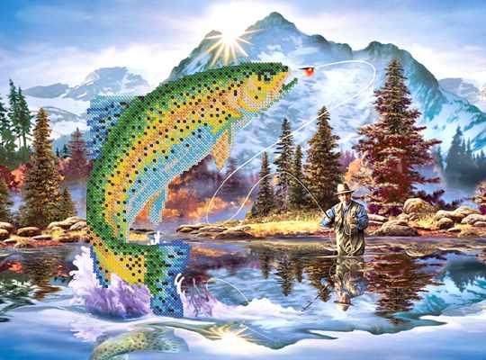 РКП-210 Удачная рыбалка - схема (Марiчка)