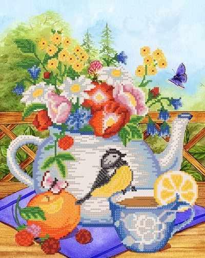 РКП-236 Летний чай - схема (Марiчка)