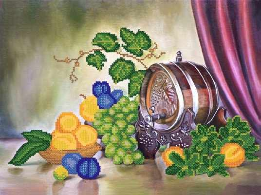 РКП-240 Спелые фрукты - схема (Марiчка)