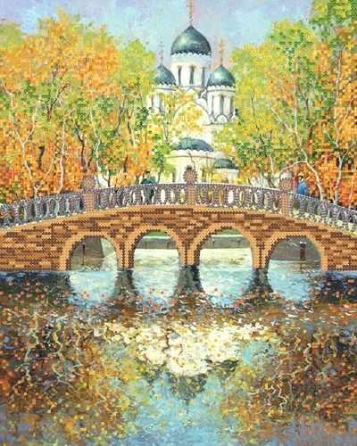 РКП-254 Осень листья разбросала - схема (Марiчка)