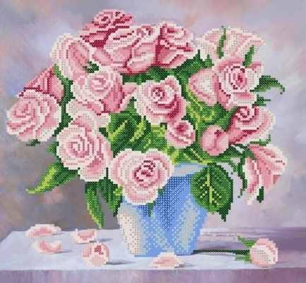 РКП-269 Нежные розы - схема (Марiчка)