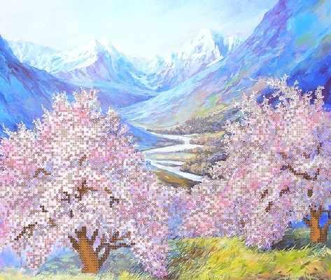 РКП-290 Весна в горах - схема (Марiчка)
