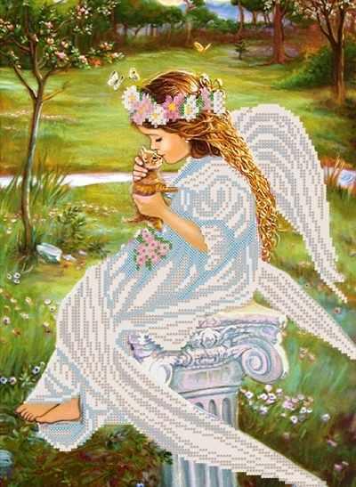 РКП-329 Поцелуй ангела - схема (Марiчка)