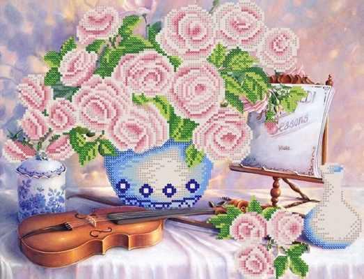 РКП-350 Натюрморт со скрипкой - схема (Марiчка)