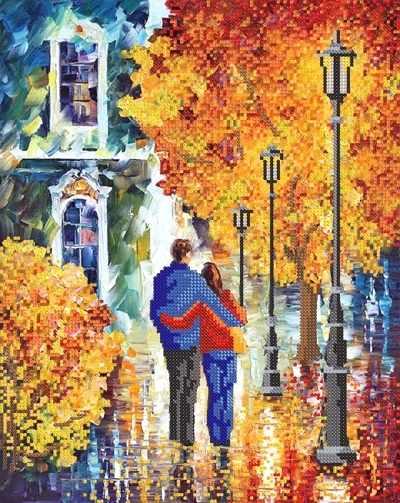 РКП-354 Влюбленные в осень - схема (Марiчка)
