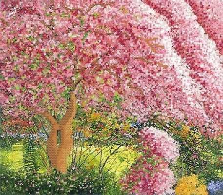 РКП-363 Весенние краски - схема (Марiчка)
