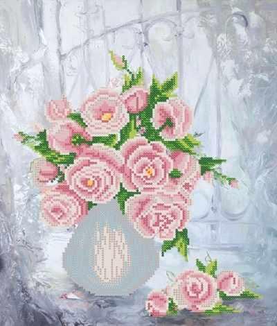 РКП-387 Розовая фантазия - схема (Марiчка)
