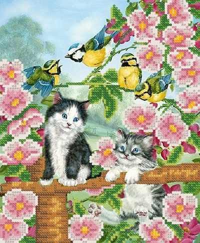 РКП-4-068 Котята в саду- схема (Марiчка)
