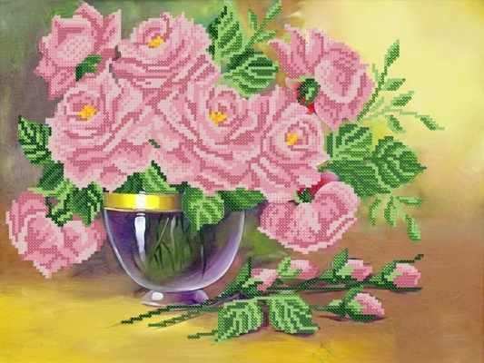 РКП-409 Изящные розы - схема (Марiчка)