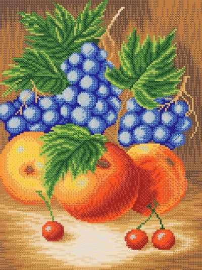РКЗ-004 Сочные фрукты - схема (Марiчка)