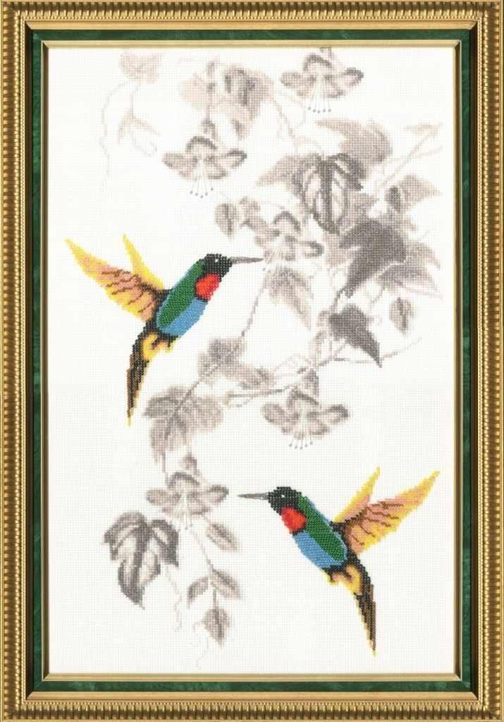 РС-016 Райские птички. Райский сад