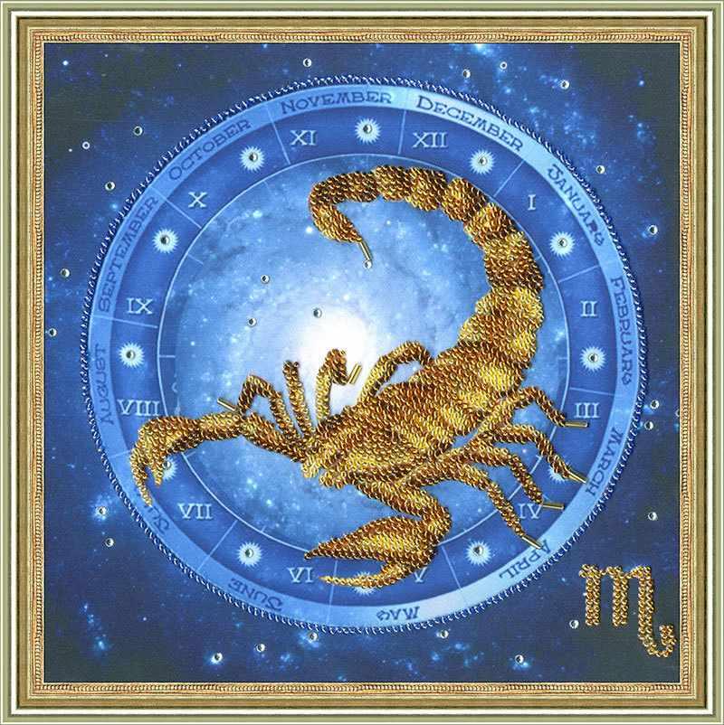 РТ-056 Скорпион. Рисунок на ткани