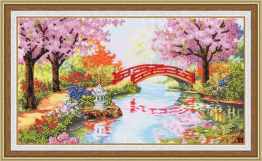 РТ-110 Весенний сад. Рисунок на ткани