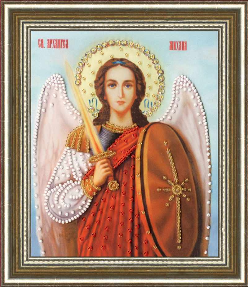 РТ-133 Икона Архангела Михаила. Рисунок на ткани