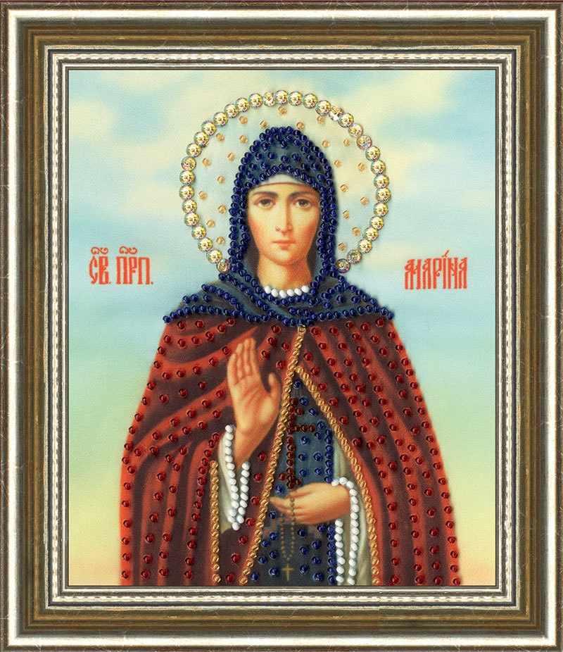 РТ-145 Икона Святой Преподовной Марины