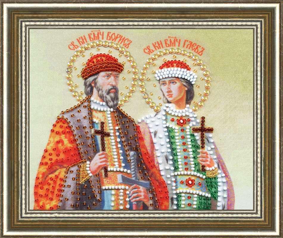 РТ-147 Икона Святых Князей Бориса и Глеба