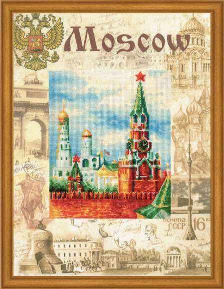 "РТ0021 ""Города мира. Москва"""
