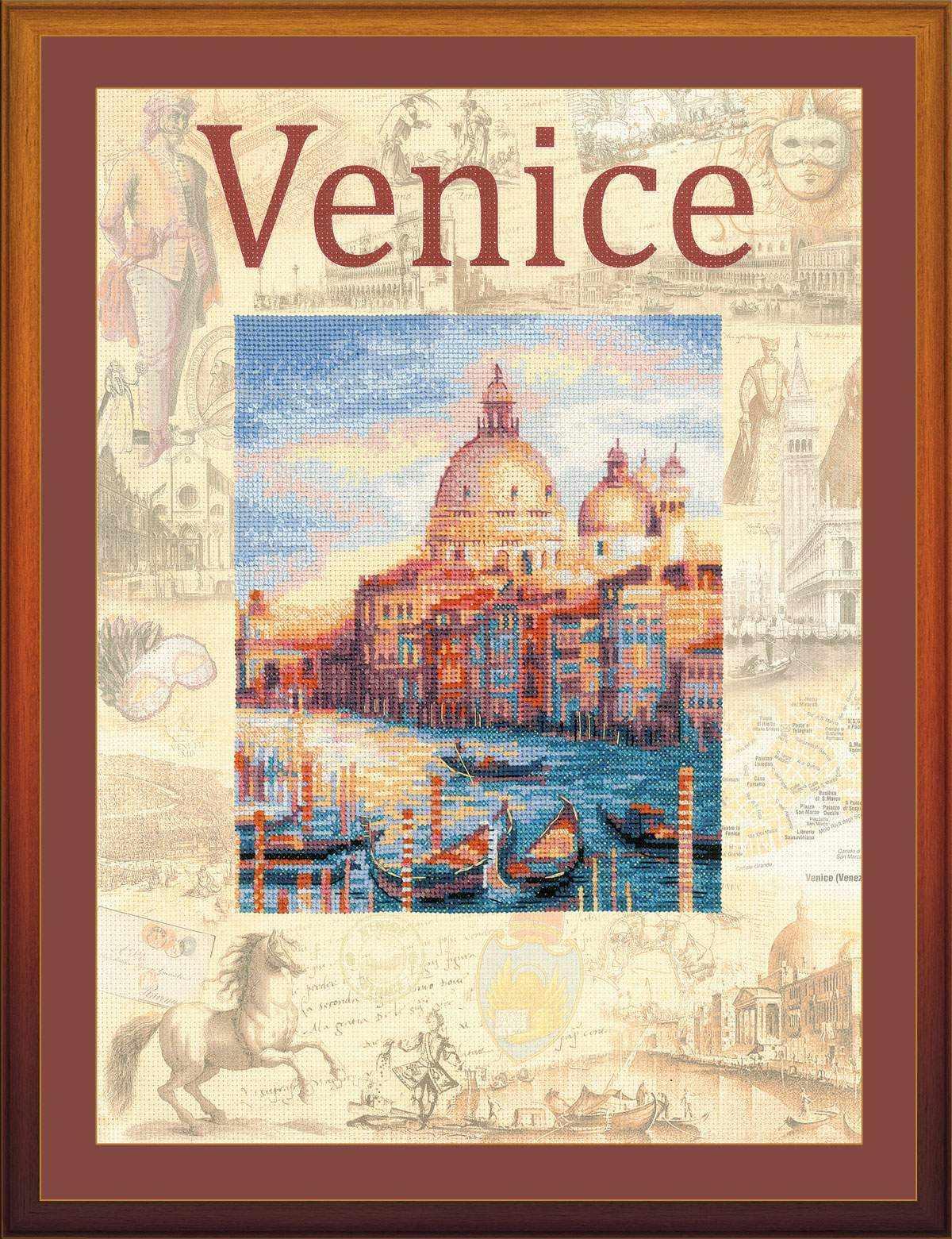 """РТ0030 """"Города мира. Венеция"""""""