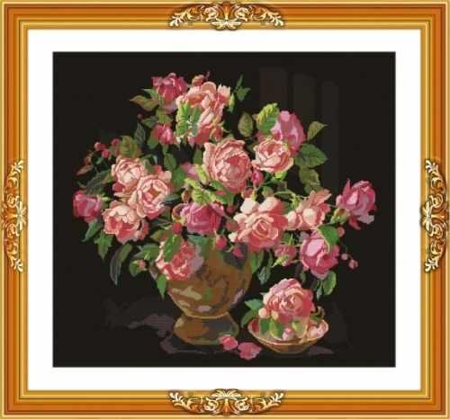 """S-017 """"Букет роз"""""""