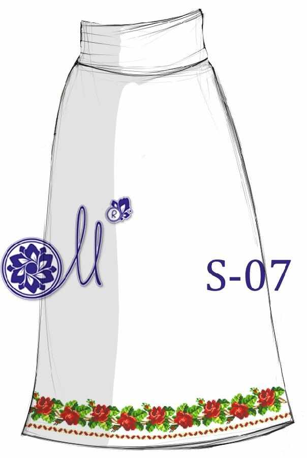 S-07 Заготовка юбки (Мережка)