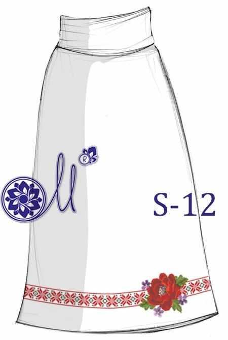 S-12 Заготовка юбки (Мережка)