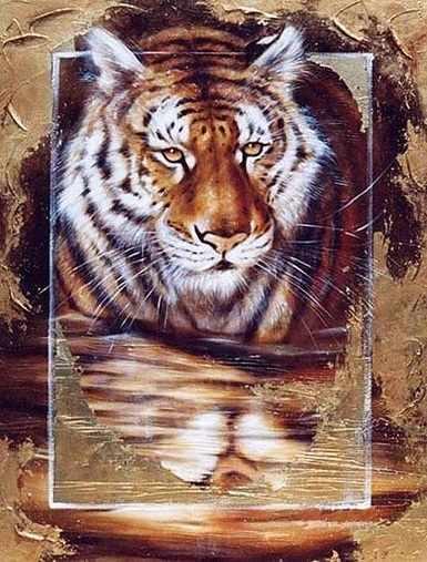 S-537 Тигр  - мозаика Милато
