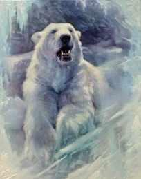 S-543 Белый медведь - мозаика Милато