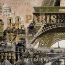 S-551 Париж - мозаика Милато