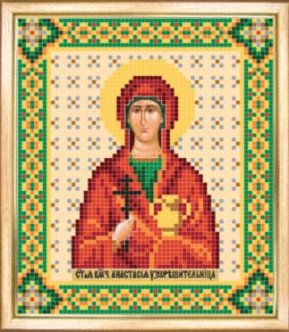 СБИ-036 Св. великомученица Анастасия - схема для вышивания - чм