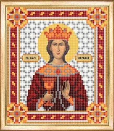 СБИ-060 Св. великомученица Варвара - схема для вышивания - чм