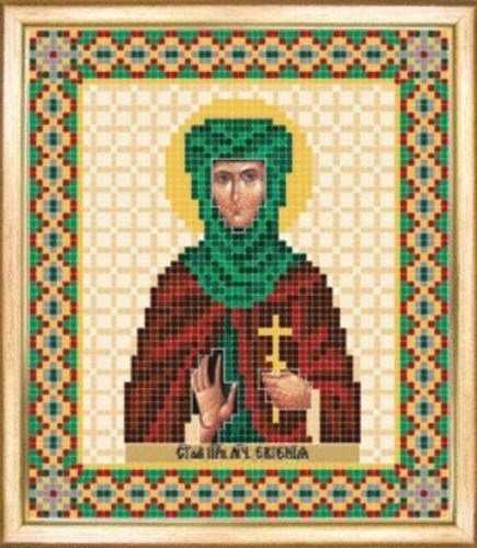 СБИ-062 Св. мученица Евгения - схема для вышивания - чм
