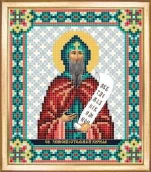 СБИ-070 Св. равноапостольный Кирилл - схема для вышивания - чм