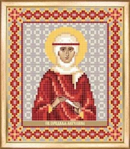 СБИ-091 Св. праведная Ангелина - схема для вышивания - чм
