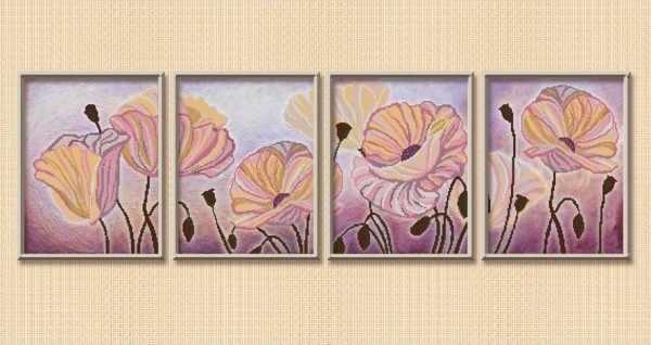 СЧМ-2007 Вальс цветов - схема (Велисса)