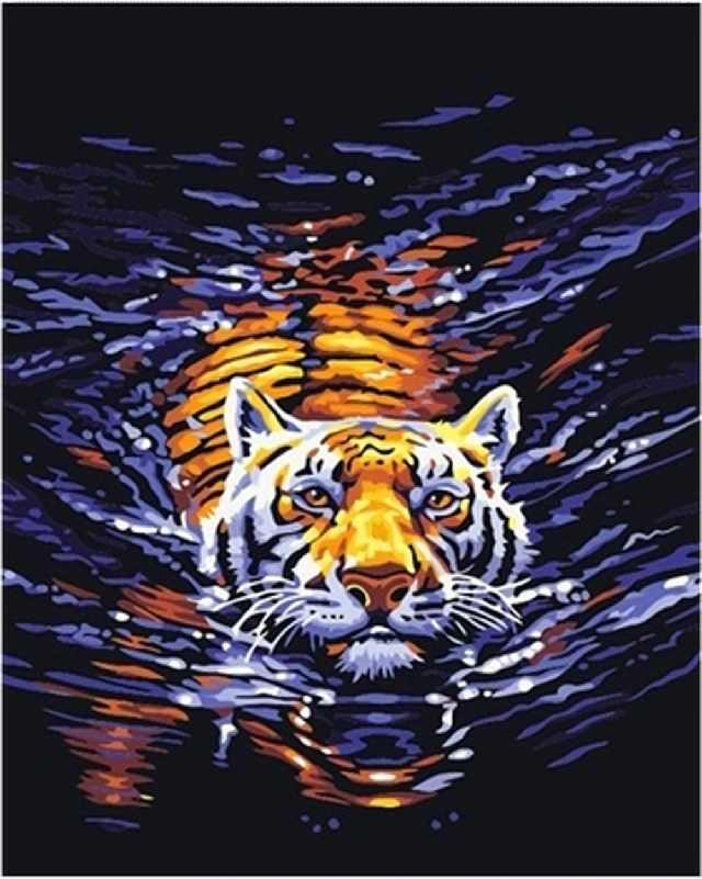 SG108 В воде - мозаика из страз (Цветной)