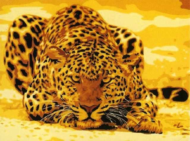SG526 Хищник - мозаика из страз (Цветной)