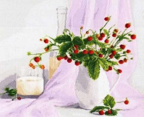 СЖ-016 Розовый натюрморт.Стиль жизни