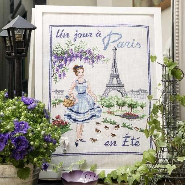 "SKJPEL/JOU ""Летний день в Париже"" (ПВ)"