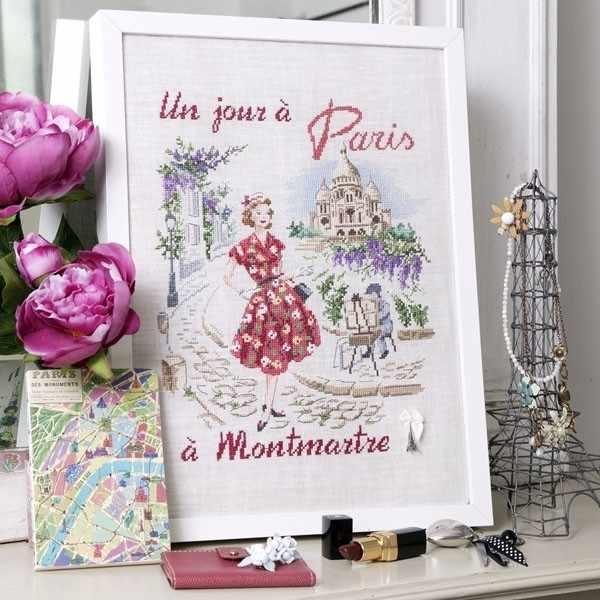 """SKJPMA/JOU """"Монмартр день в Париже"""" (ПВ)"""