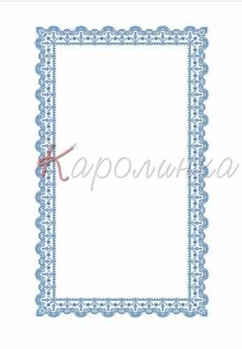 СКК 1001 Заготовка для скатерти (Каролинка)