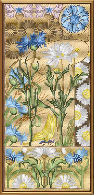 СР 5570 Цветочный вернисаж. Ромашки