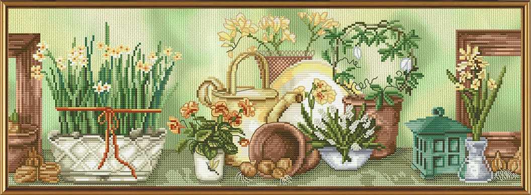СВ 4034 Садовый натюрморт