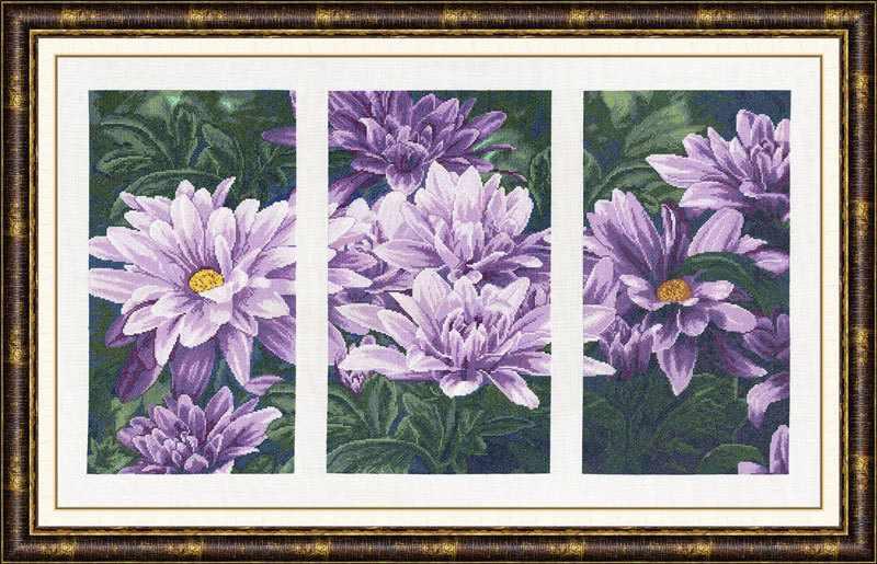 Т-007 Фиолетовое настроение.Триптих