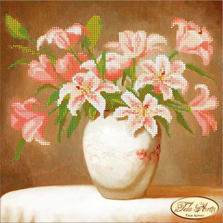 ТА-020 - Розовые лилии (Tela Artis)