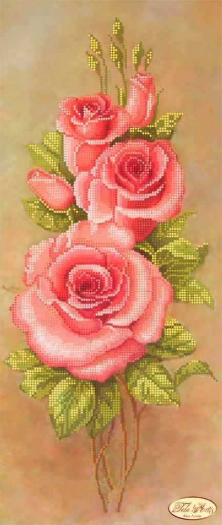ТК-017 - Розовые лепестки (Tela Artis)
