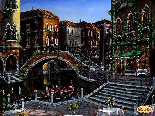 ТК-059 - Венецианскими улочками - схема (Tela Artis)