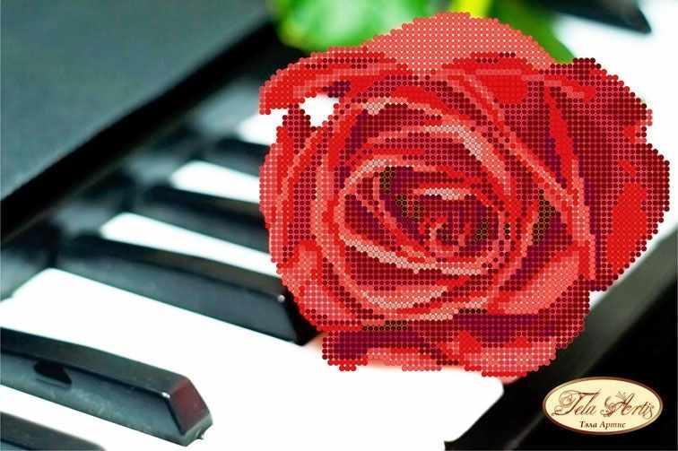 ТМ-054 - Пианино и роза (Tela Artis)